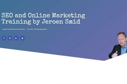 Seo and Online Marketing Training by Jeroen Smid